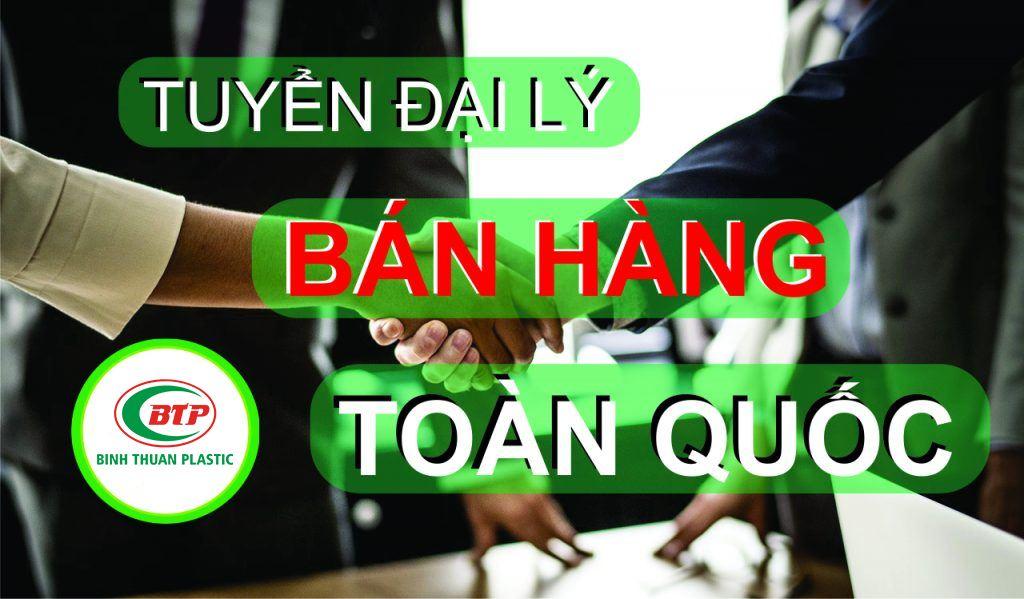 Trở thành đại lý phân phối của Nhựa Bình Thuận chỉ với 20 triệu đồng