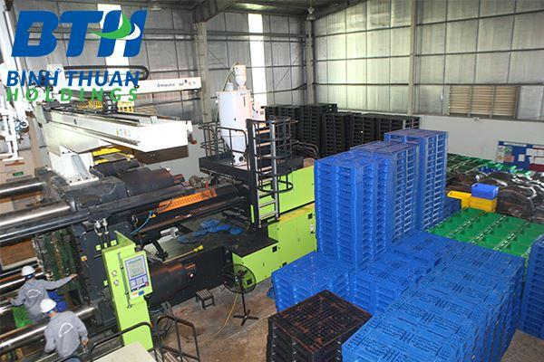 Nhà máy sản xuất pallet nhựa tại Hà Nội