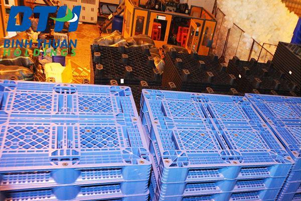 Xưởng sản xuất pallet nhựa tại Hà Nội