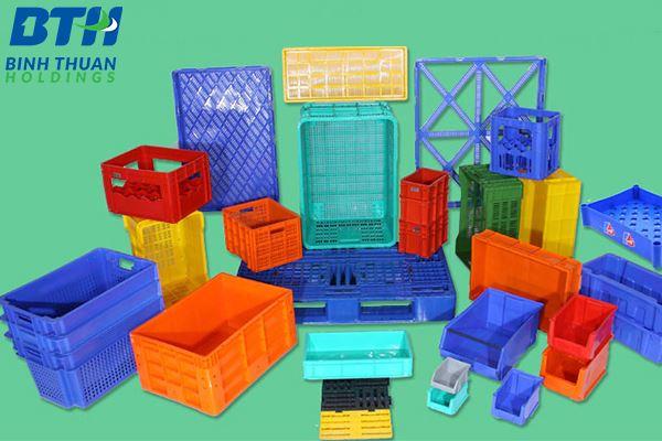 Sản xuất thùng nhựa sóng theo yêu cầu