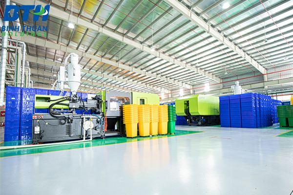 Công ty sản xuất thùng rác tại Hà Nội