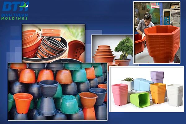 Nhà máy nhận sản xuất chậu nhựa trồng hoa