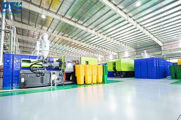 Sản xuất thùng nhựa công nghiệp cao cấp