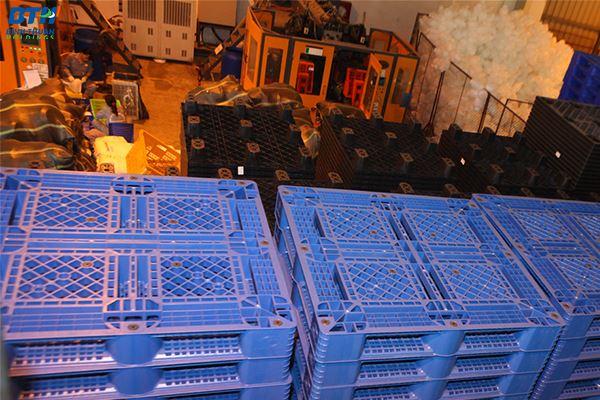 Sản xuất pallet nhựa tại Hà Nội giá xưởng