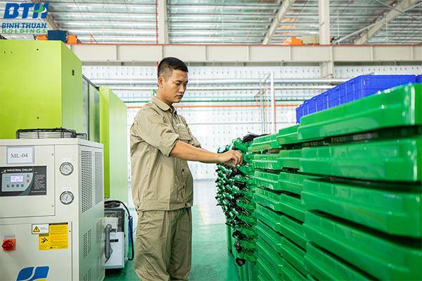 Sản xuất thùng nhựa sóng