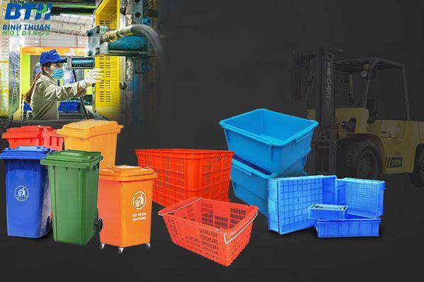 Nhà máy sản xuất thùng nhựa công nghiệp