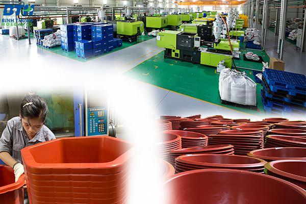 Nhà máy sản xuất chậu nhựa