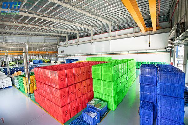 Công ty sản xuất thùng nhựa