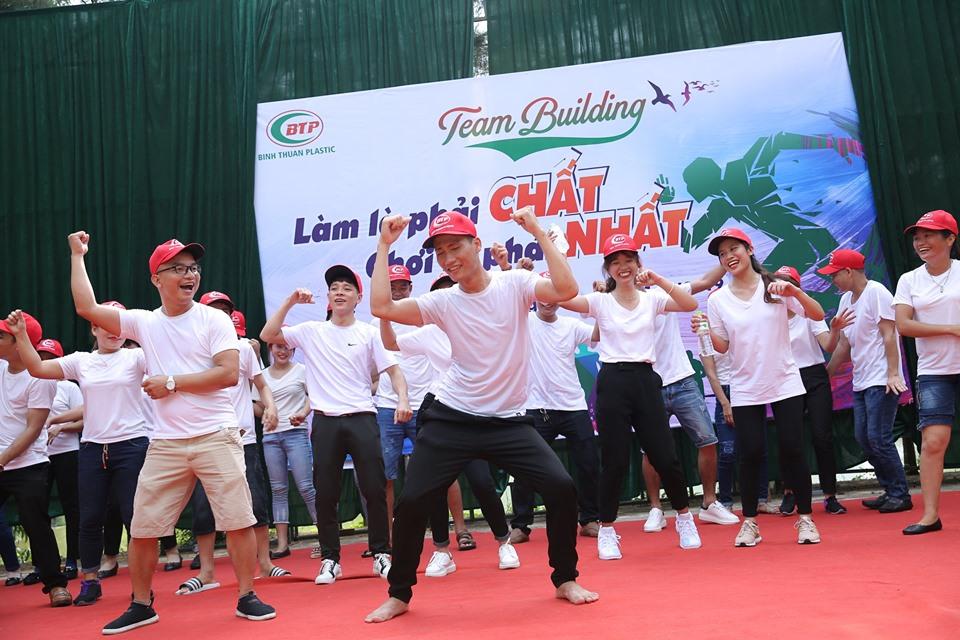 Teambuilding công ty Nhựa Bình Thuận siêu vui nhộn
